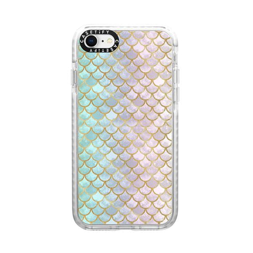 Generic Covers Casetify Impact Case for iPhone SE 2020 Mermaid Scales