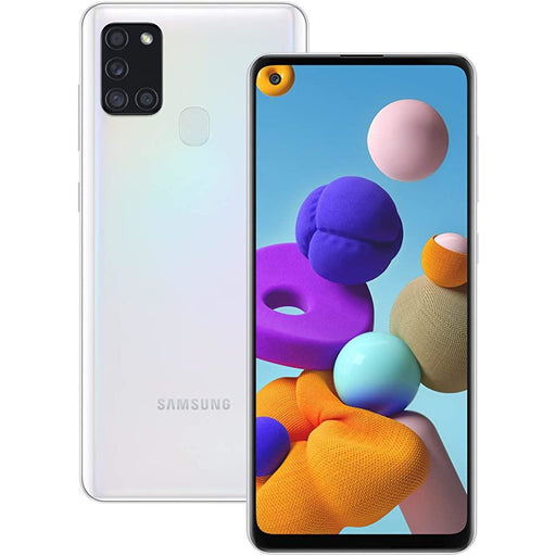 Samsung Phones Galaxy A21S 32GB White - New Sim Free