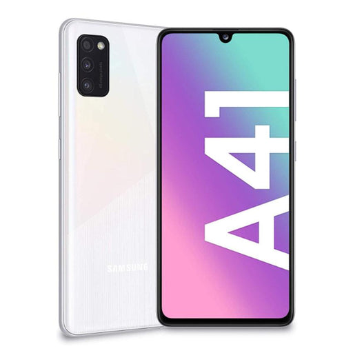 Samsung Phones Galaxy A41 64GB White - New Sim Free