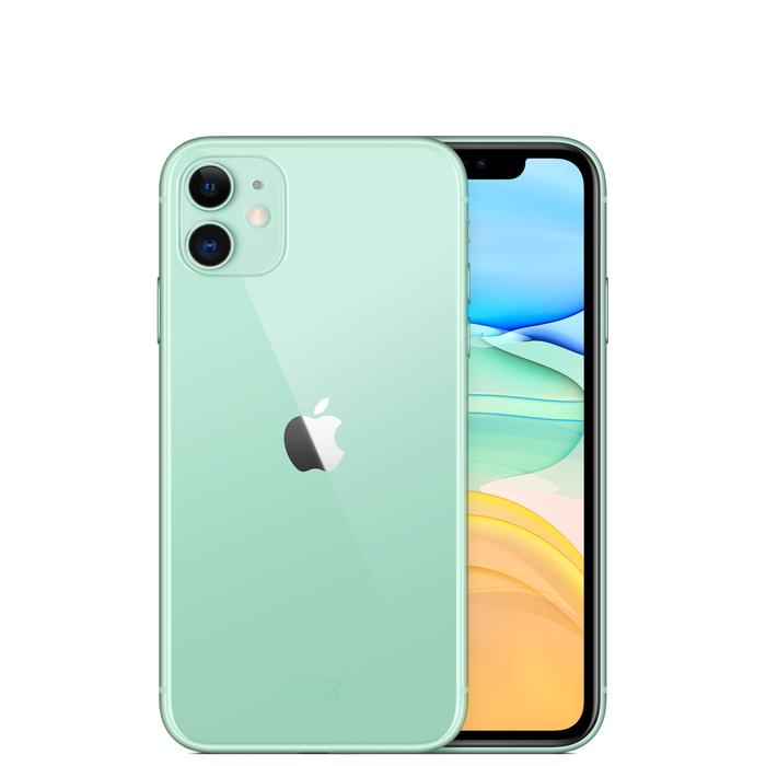 Apple Phones Green iPhone 11 64GB Dual Sim | New, Sim Free