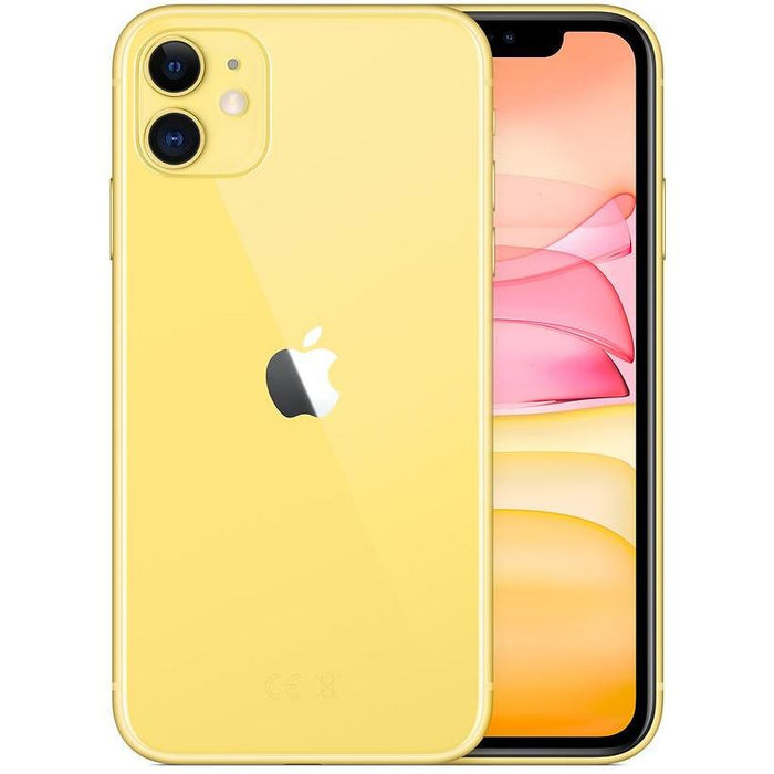Apple Phones Yellow iPhone 11 64GB Dual Sim | New, Sim Free