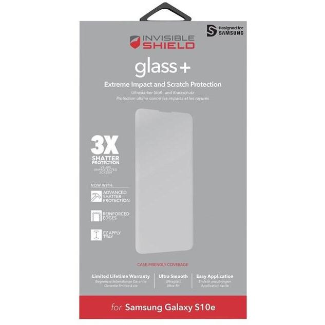 Zagg Screen Protectors Zagg InvisibleShield Glass+ Screen Protector for Samsung Galaxy S10e