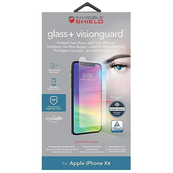 Zagg Screen Protectors Zagg InvisibleShield Glass+ VisionGuard Screen Protector for iPhone XR