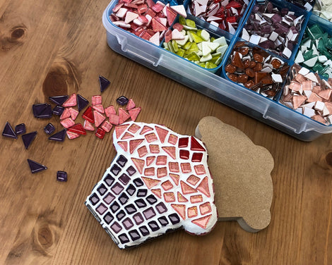 MAKE YOUR OWN MOSAIC ART