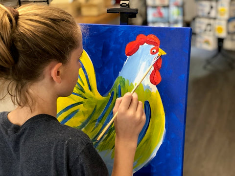 After School Paint Series at Charmios in Newtown CT