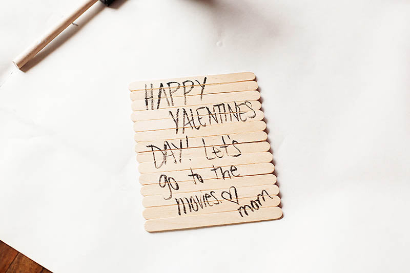 DIY Valentine's Photo Puzzle Craft