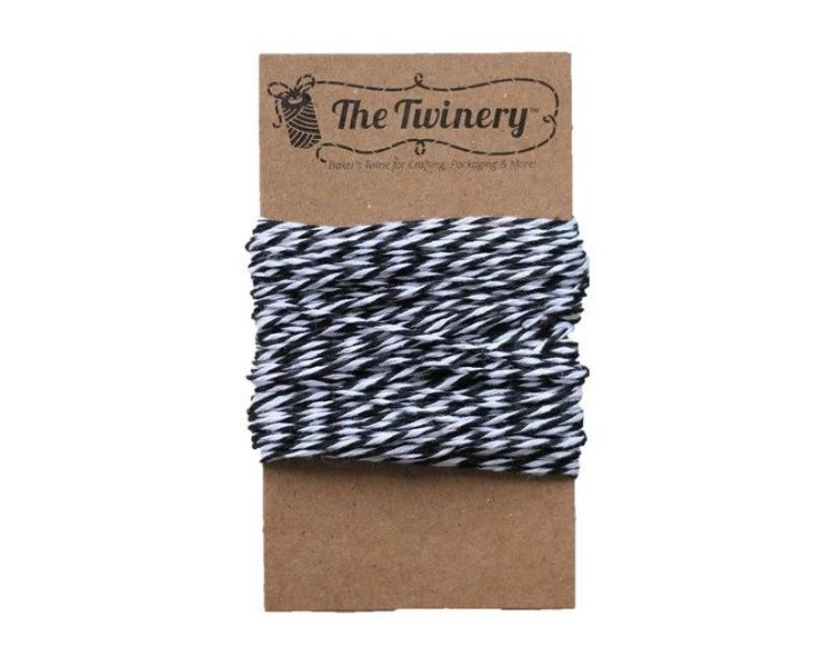 Black and White Bakers Twine