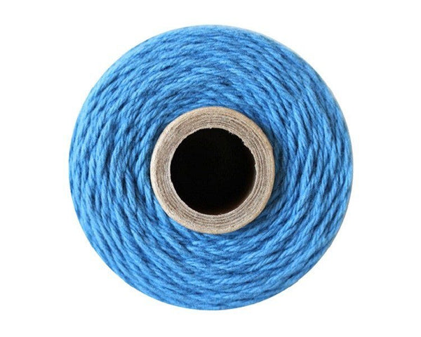 Blue Solid Bakers Twine