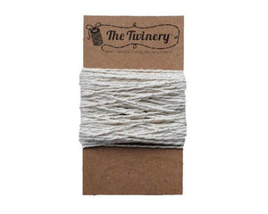 Silver and White Baker's Twine