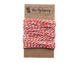 Orange and White Baker's Twine