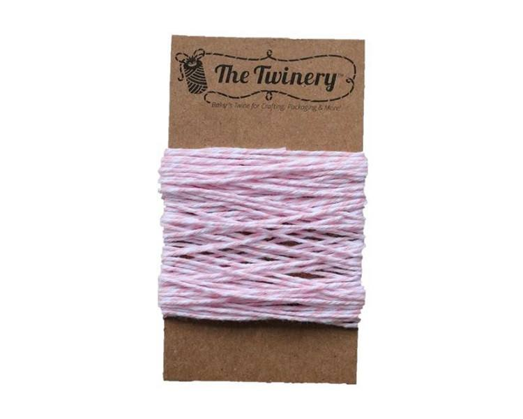 Pink and White Bakers Twine