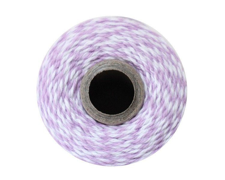 Purple and White Bakers Twine