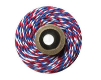 Red White and Blue Baker's Twine 240 Yards Spool