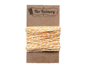 Yellow White Bakers Twine