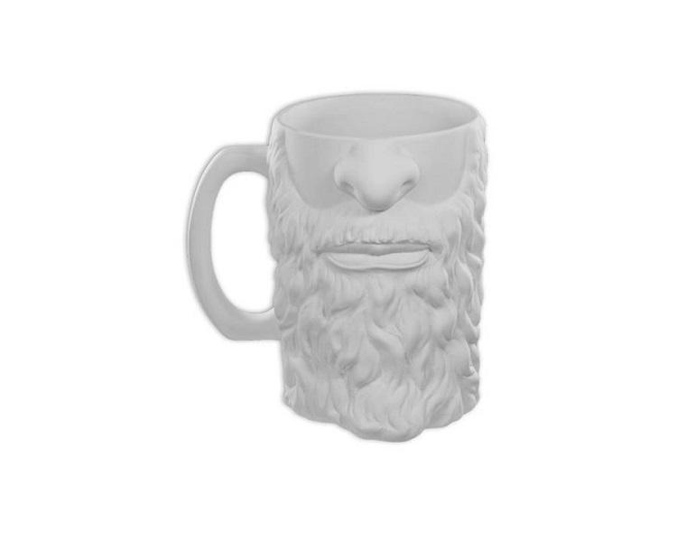Ceramic Bisque - Bearded Stein