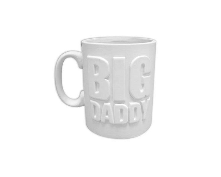 Ceramic Bisque - Big Daddy Mug