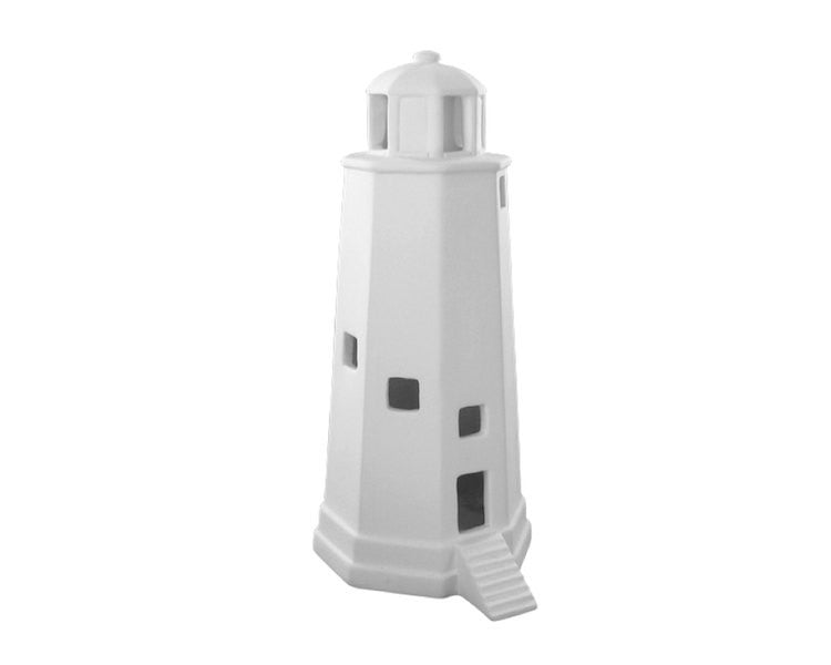 Ceramic Bisque - Ceramic Bisque Lighthouse, 1 Pc