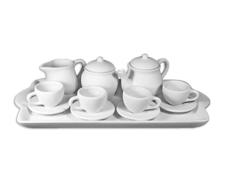 Ceramic Bisque - Child Tea Set