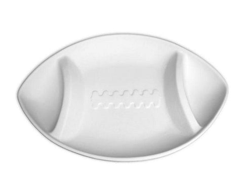 Ceramic Bisque - Football Tailgate Party Platter