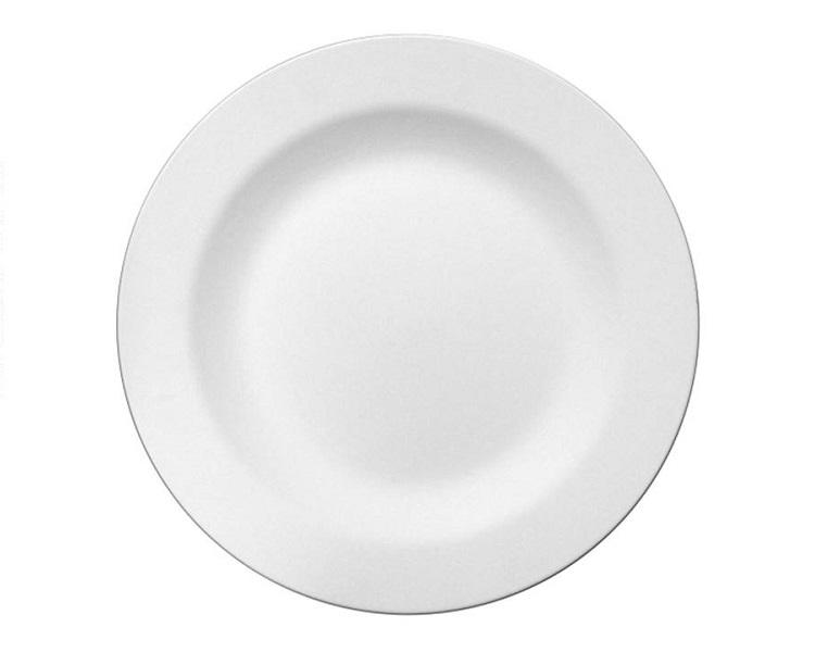 Ceramic Bisque - Rim Charger Plate