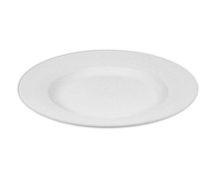 Ceramic Bisque - Rim Dinner Plate