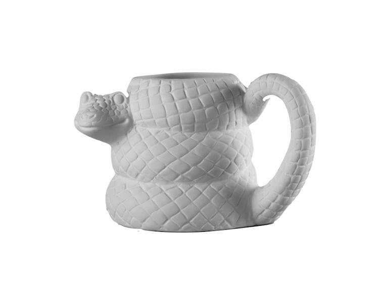 Ceramic Bisque - Snake Mug