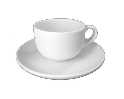 Ceramic Bisque - Tea Cup And Saucer