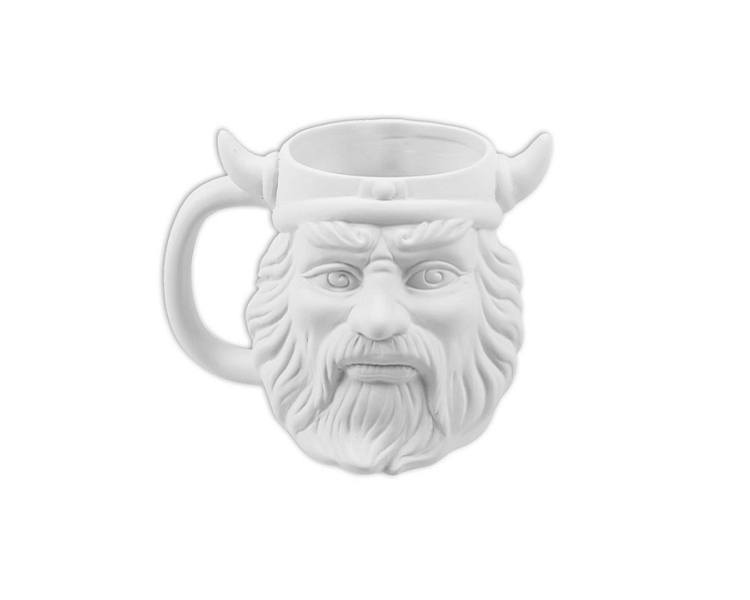 Ceramic Bisque - Viking Mug