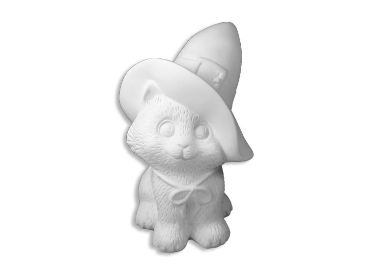 Ceramic Bisque - Witch's Kitty Bisque
