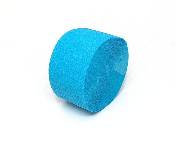 Turquoise Crepe Paper Streamers
