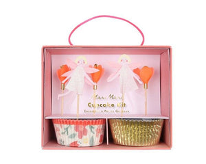 Cupcake Liners - Fairy Cupcake Liner And Topper Kit