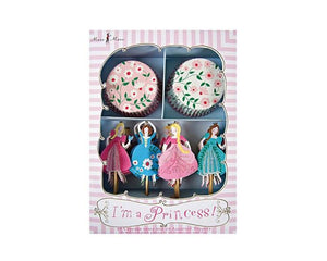 Cupcake Liners - I'm A Princess Cupcake Liner And Topper Kit
