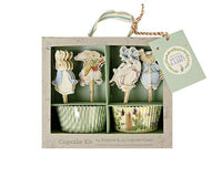 Cupcake Liners - Peter Rabbit Cupcake Liners And Toppers Kit, 48 Pcs