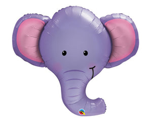 Foil Balloons - Ellie The Elephant Foil (Mylar) Balloon - 39 Inch