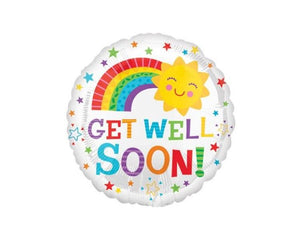 Foil Balloons - Get Well Soon! Foil Balloon - 17 Inch
