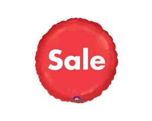 Foil Balloons - Red Sale Foil Balloon - 17 Inch