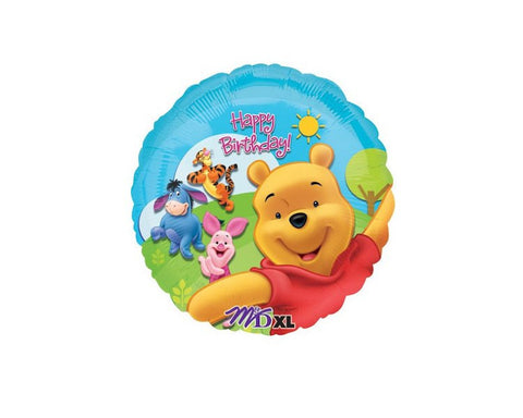 Foil Balloons - Winnie The Pooh And Friends Balloon Foil (Mylar) Balloons - 18 Inch