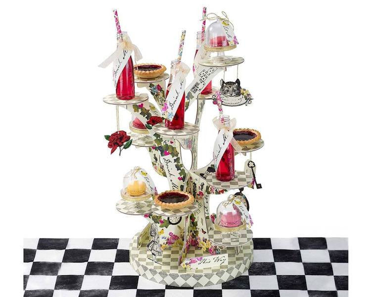Alice In Wonderland Cupcake Stand