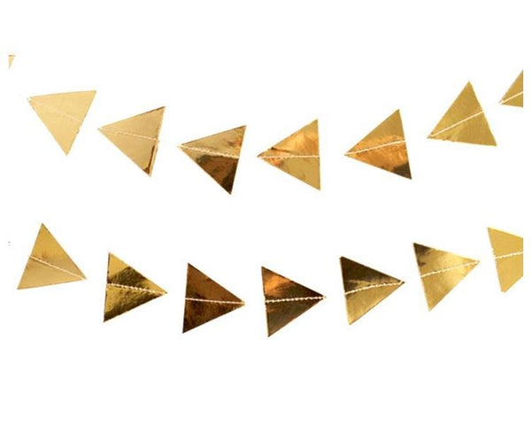 Garland - Goddess Gold Triangle Garland