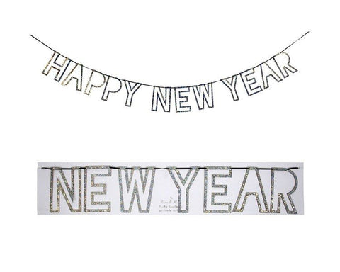 Garland - Happy New Year Garland, 1 Pc