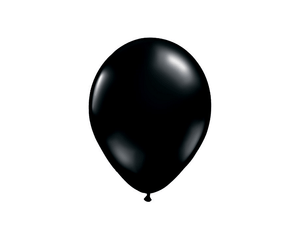 Latex Balloons - Black Latex Balloons - 11 Inch