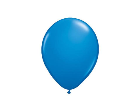 Latex Balloons - Blue Dark Latex Balloons - 11 Inch