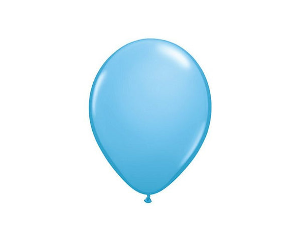 Latex Balloons - Blue Pale Latex Balloons - 11 Inch