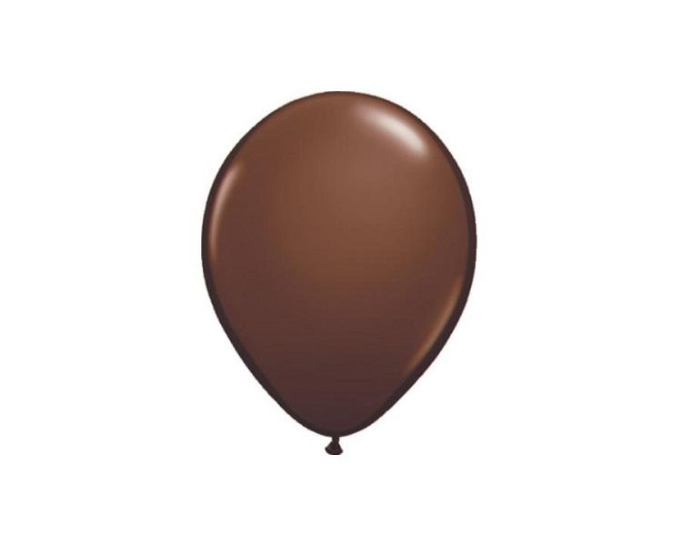 Latex Balloons - Chocolate Brown Latex Balloons - 11 Inch