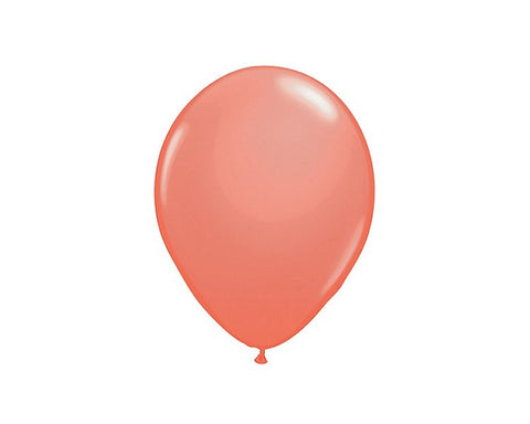 Latex Balloons - Coral Latex Balloons - 11 Inch