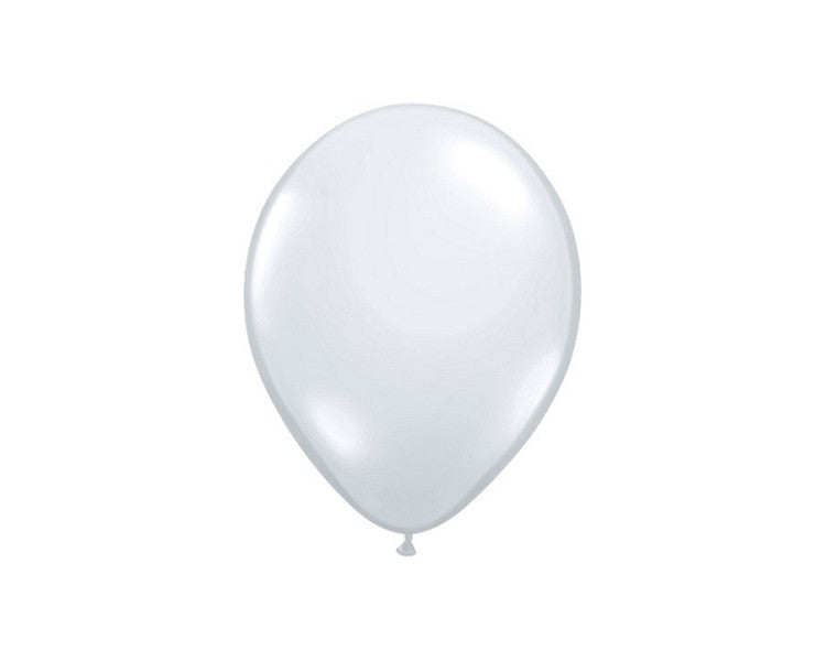 Latex Balloons - Diamond Clear Latex Balloons - 11 Inch