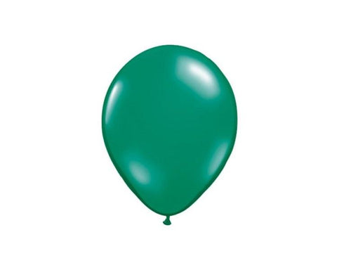 Latex Balloons - Emerald Green Latex Balloons - 11 Inch