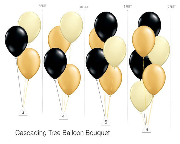 Latex Balloons - Gold Latex Balloons - 11 Inch