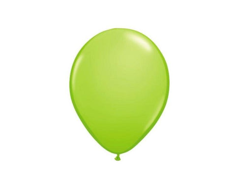 Latex Balloons - Lime Green Latex Balloons - 11 Inch