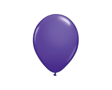 Latex Balloons - Purple Violet Latex Balloons - 11 Inch